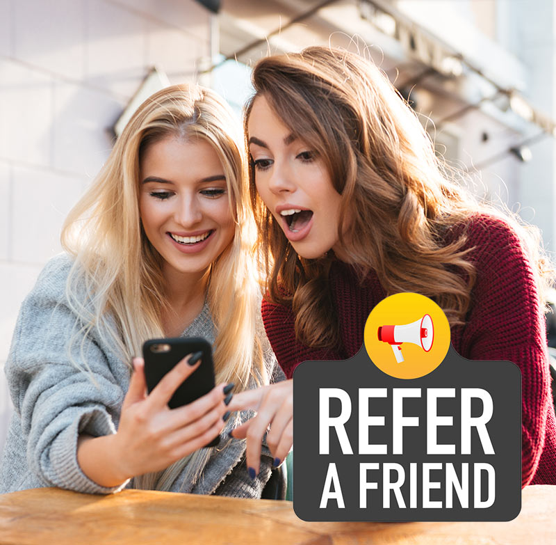 New Radiance Rewards Refer a Friend